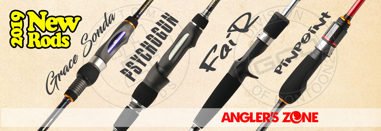 New Pontoon21 and GAD Spinning rods